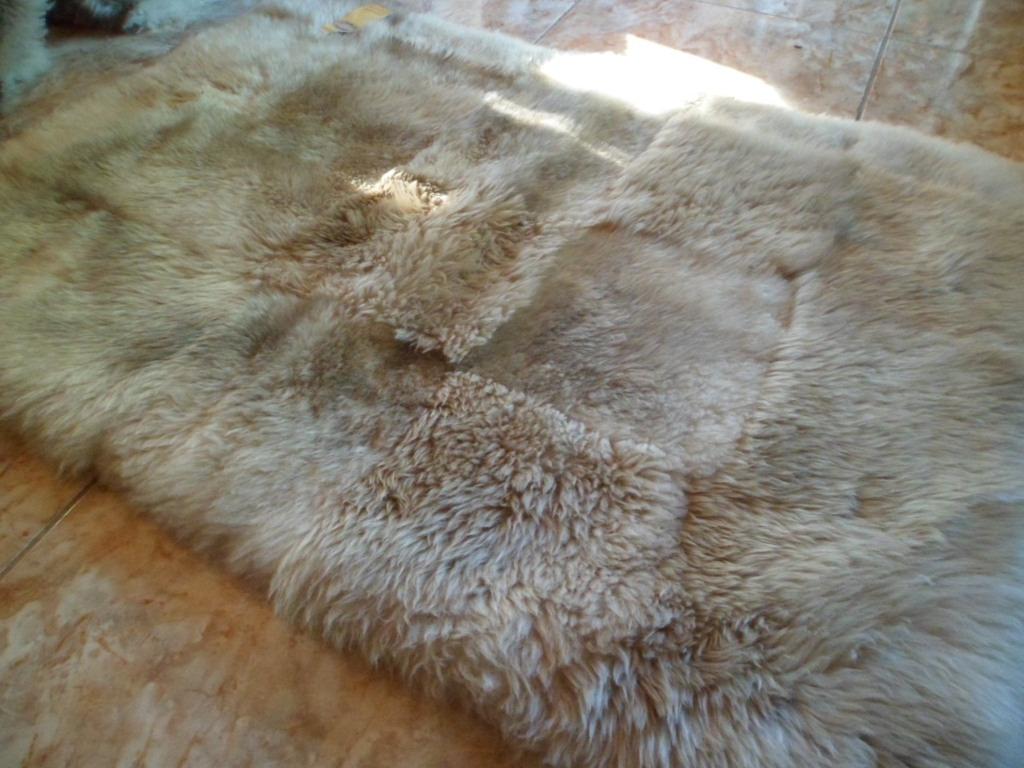 Bajadas de cama piel o cuero oveja alfombras de oveja for Alfombras de cuero