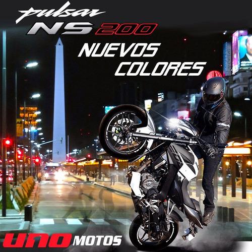 bajaj 200cc ns nuevo modelo 0km