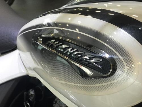 bajaj avenger 220 blanca modelo 2019- lidermoto - tigre