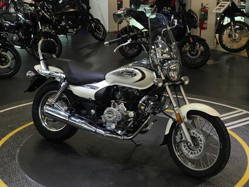 bajaj avenger 220 blanca nueva 2019 solo globalmotorcycles