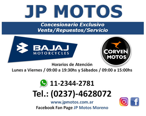 bajaj avenger 220 cruise! concesionario exclusivo jp motos