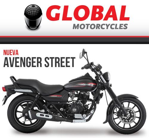 bajaj avenger street