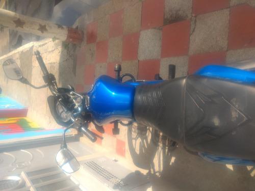 bajaj discover 100m azul