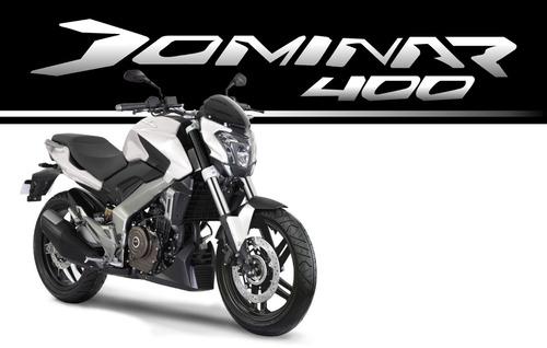 bajaj dominar 400 0km 2018 // tomo moto auto // financio