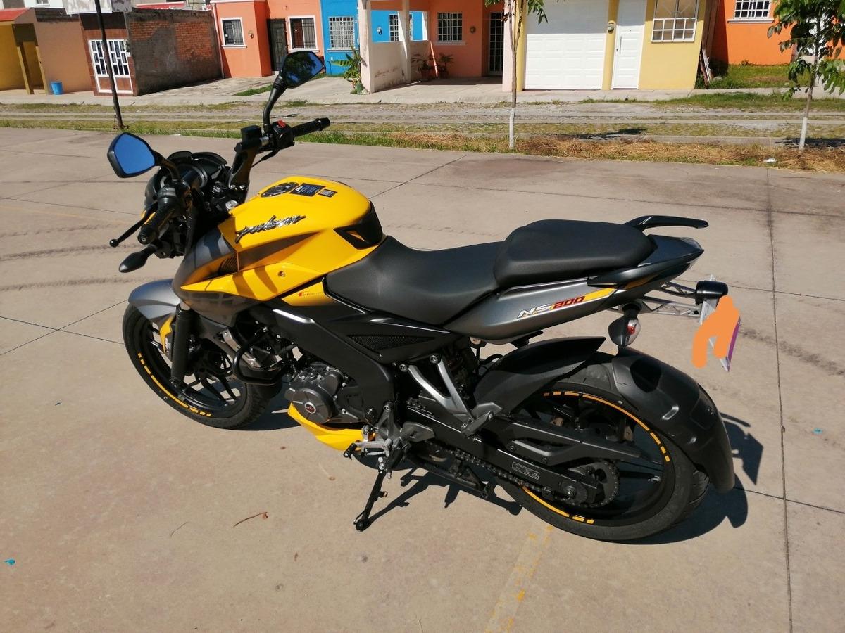 Bajaj Pulsar Ns 200 Fi Abs - $ 50,000 en Mercado Libre