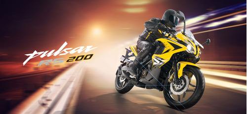 bajaj pulsar rs 200 | potencia y velocidad, financiada!
