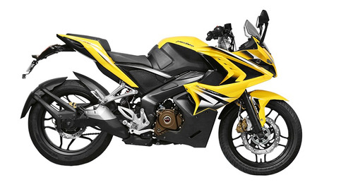 bajaj pulsar rs200 - inyeccion - abs negra