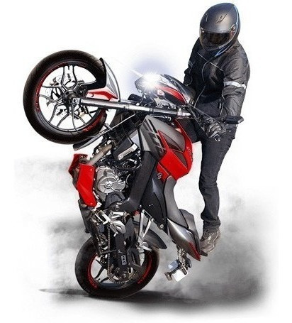 bajaj rouser 125cc ns - motozuni - desc. ctdo la plata