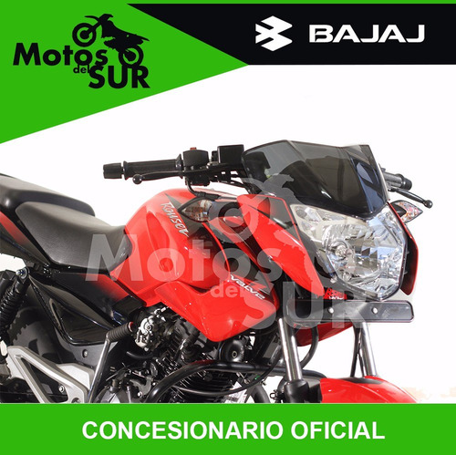 bajaj rouser 135 0km  2017 financiacion motos del sur
