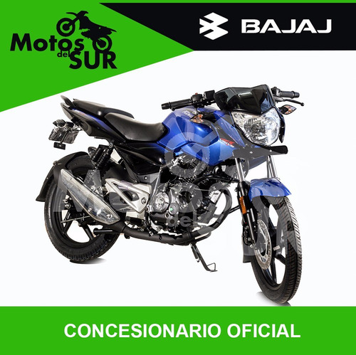 bajaj rouser 135 0km  2017 financiacion motos del sur azul