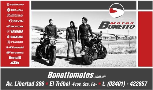 bajaj rouser 160 ns - 0 km - bonetto motos - (no cg ni ybr )