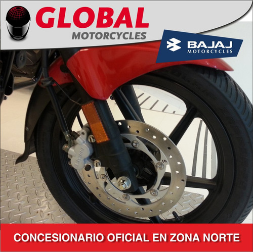 bajaj rouser 180 0km entrega inmediata global motorcycles