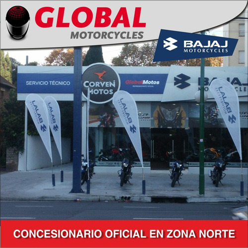 bajaj rouser 180 2016 entrega inmediata global motorcycles