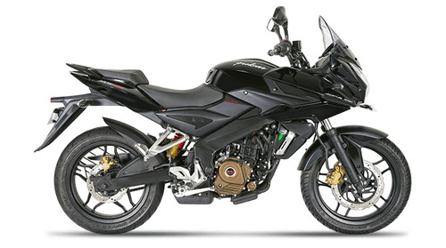 bajaj rouser 200 as 0 km 2017 financiacion motos del sur
