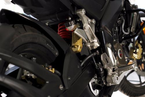 bajaj rouser 200 ns 0 km - 2016 motos del sur azul