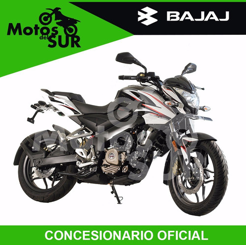 bajaj rouser 200 ns 0 km 2017 financiacion motos del sur