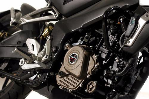 bajaj rouser 200 ns 0 km  2017 motos del sur blanca