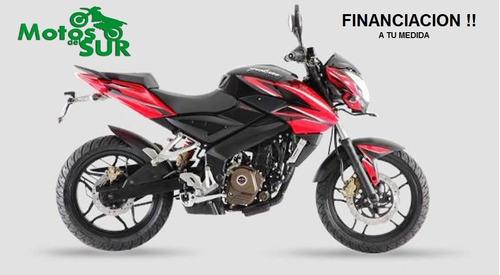 bajaj rouser 200 ns 0 km 2017 motos del sur financio blanca