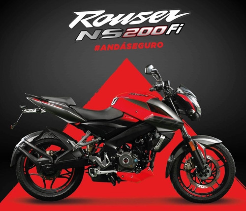 bajaj rouser 200 ns 0km 2020 nuevo modelo! todos los colores