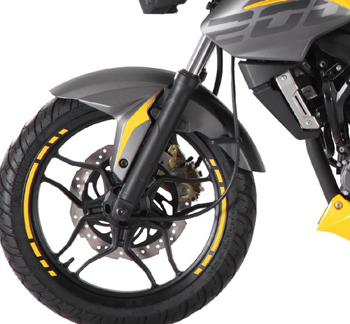 bajaj rouser 200 ns -colores disponibles- global olivos