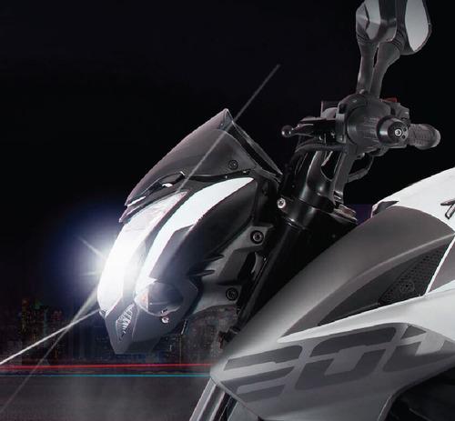 bajaj rouser 200 ns - nuevo diseño - lidermoto - tigre lider