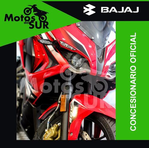 bajaj rouser 200cc rs 0 km 2017 roja financiacion