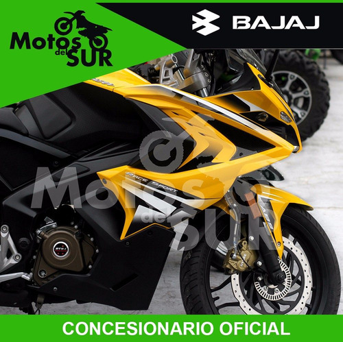 bajaj rouser 200cc rs 0 km 2017 varios colores financiacion