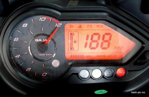 bajaj rouser 220 dts-i  0km calle dompa motos