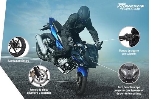 bajaj rouser 220cc 0km - tamburrino motos