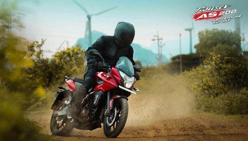bajaj rouser as 200cc - desc. ctdo motozuni m. grande