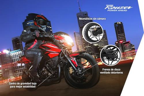 bajaj rouser ns 160 moto 0km cycles el mejor precio