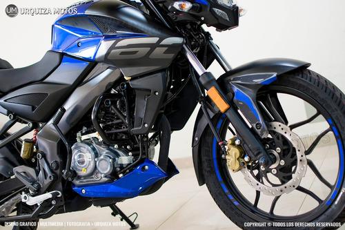 bajaj rouser ns 160 roja 2019 urquiza motos
