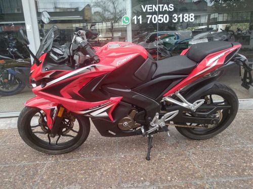 bajaj rouser rs 200  abs 2016 impecable ahora 12