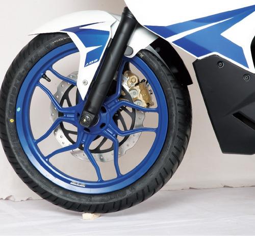 bajaj rouser rs rs200-  diseño nuevo - lidermoto - san justo