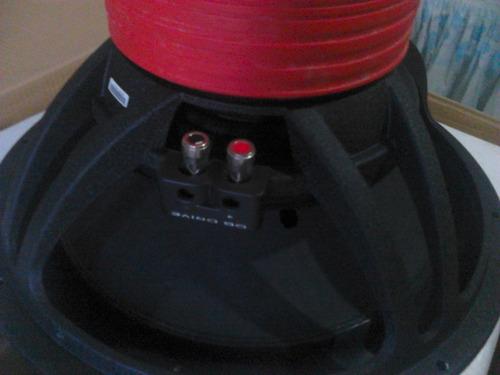 bajo 15 doble bobina db drive