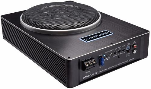 bajo amplificado extra plano powerbass sta-8- 400 watts