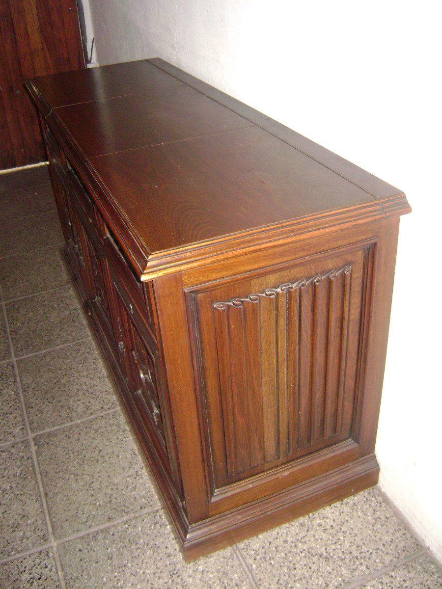 Bajo Aparador O Mueble Musiquero Estilo G Tico 12 500 00 En  # Muebles Goticos