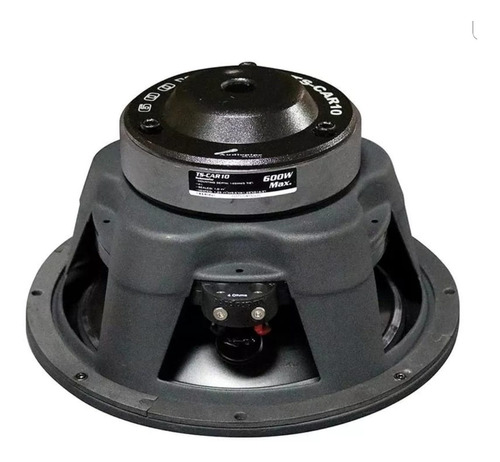 bajo audiopipe 600 watts 10 pulgadas ts-car10