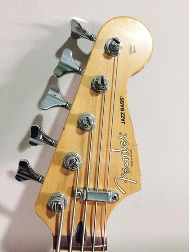 bajo electrico fender jazz bass v deluxe
