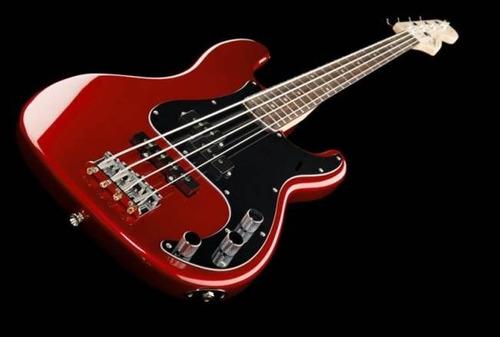 bajo eléctrico fender squier jazz bass