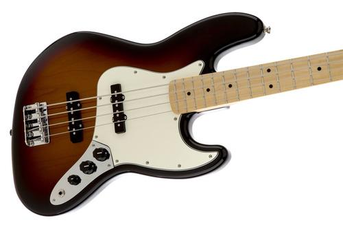 bajo eléctrico fender standard jazz bass® maple sunburst