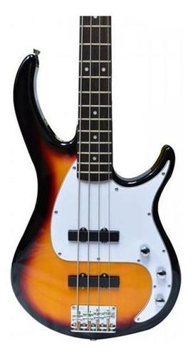 bajo electrico peavey 4 cuerdas jazz bass sunburst milestone