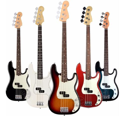 bajo electrico precision jazzbass 4 cuerdas afinador envio