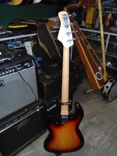 bajo electrico texas tipo jazz bass 4 cuerdas
