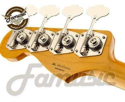bajo fender jazz bass classic series 60 rwn mexico electrico