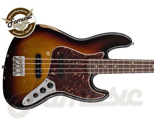 bajo fender jazz bass road worn series 60`s mexico electrico