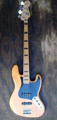 bajo guitarra fender squier jazz bass vintagemodified cambio