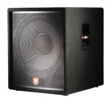 bajo jbl 118sp amplificado