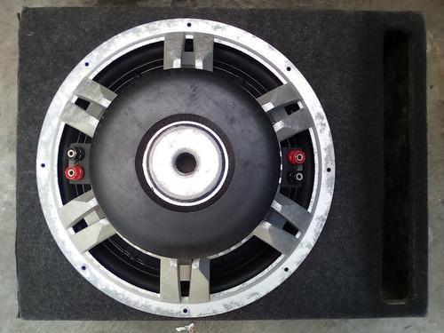 bajo jbl 15 doble bobina 1500 w. con cajón. al 100%!!!