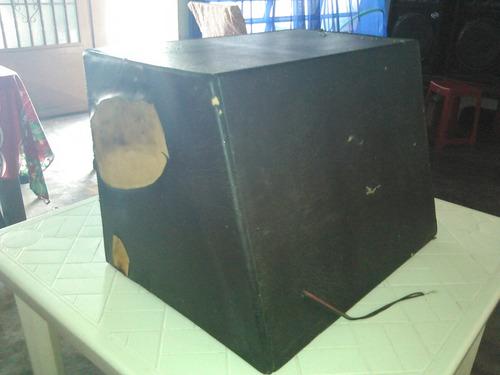 bajo kicker 12  con cajón ventilado